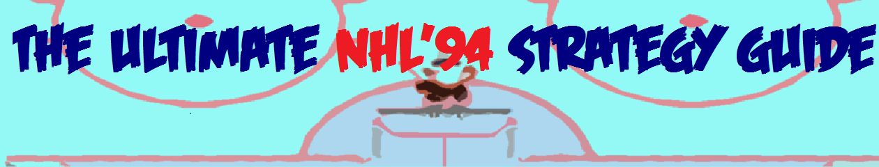 The Ultimate NHL'94 Strategy Guide